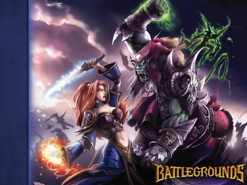 Free Download Human Mage Vs Orc Warlock World Of Warcraft