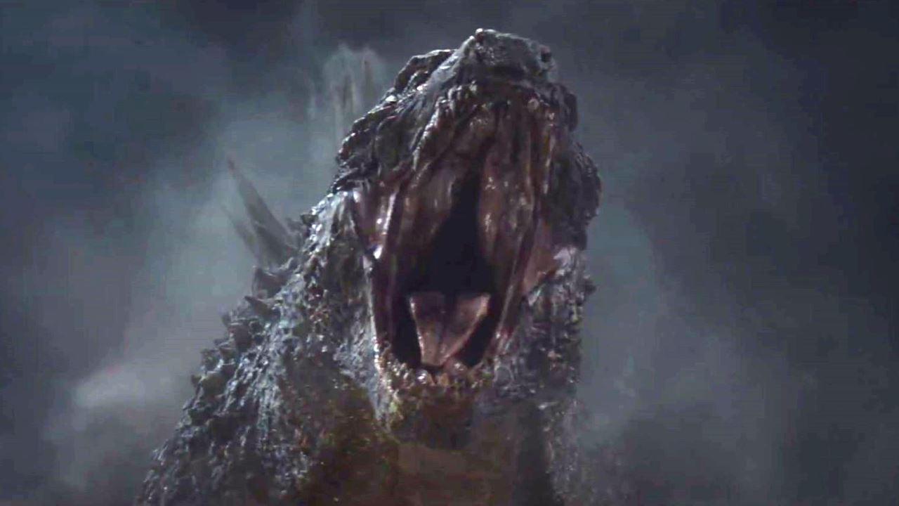 Godzilla 2014 angry Godzilla Sneak Peek Reaction Wallpaper 1280x720