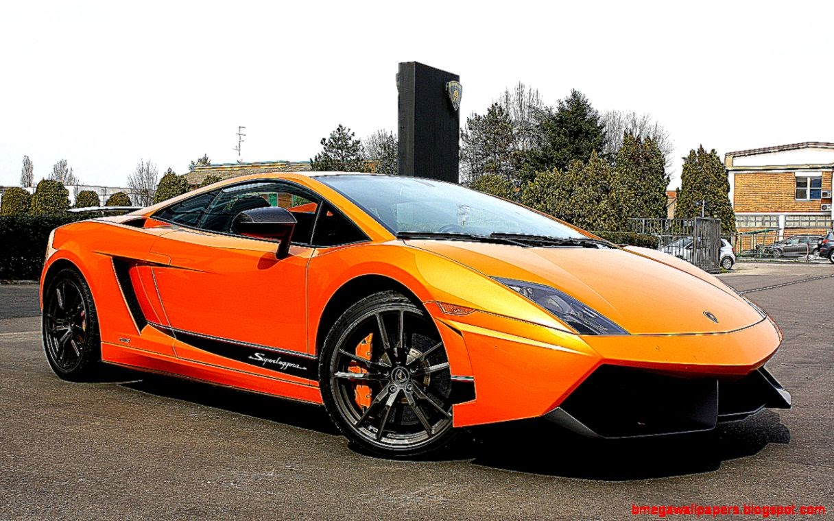 1280x800 Orange Sports Car Wallpaper Download 1216x760