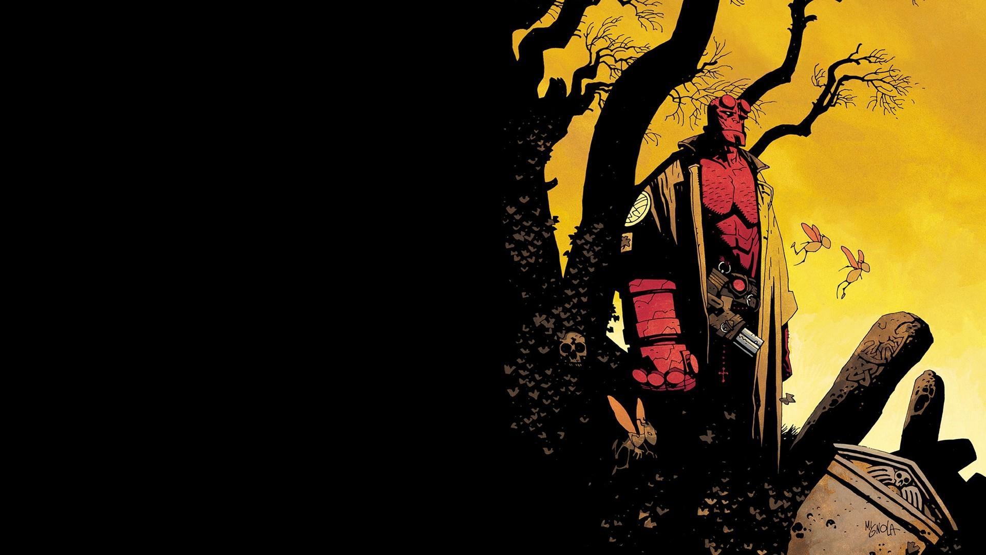 Comics hellboy wallpaper 66527 1920x1080