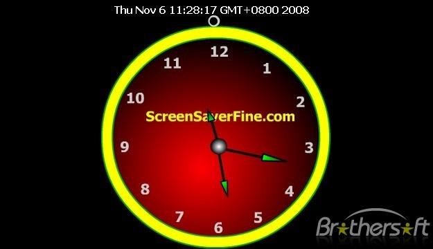 Download Flash Clock Screensaver Flash Clock Screensaver 106 625x360