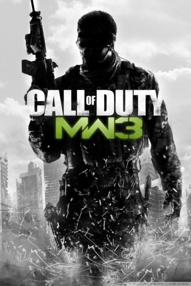 Call of Duty Modern Warfare 3 HD desktop wallpaper Widescreen 640x960