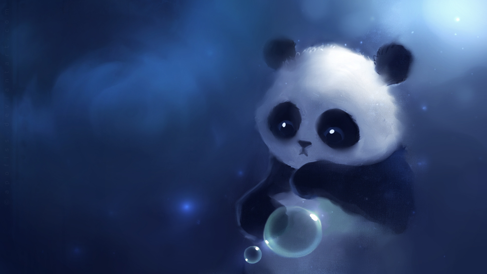 Cute Panda Painting   Cute Wallpapers 1920x1080
