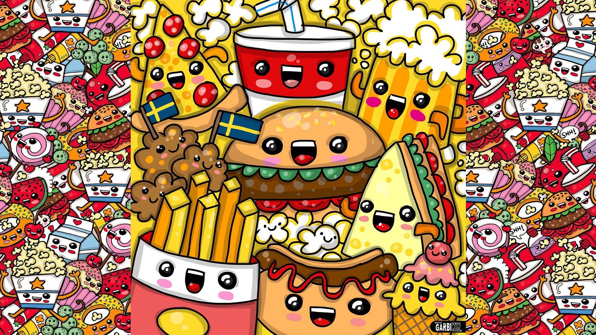 Kawaii Fast Food Wallpapers   Top Kawaii Fast Food 1920x1080