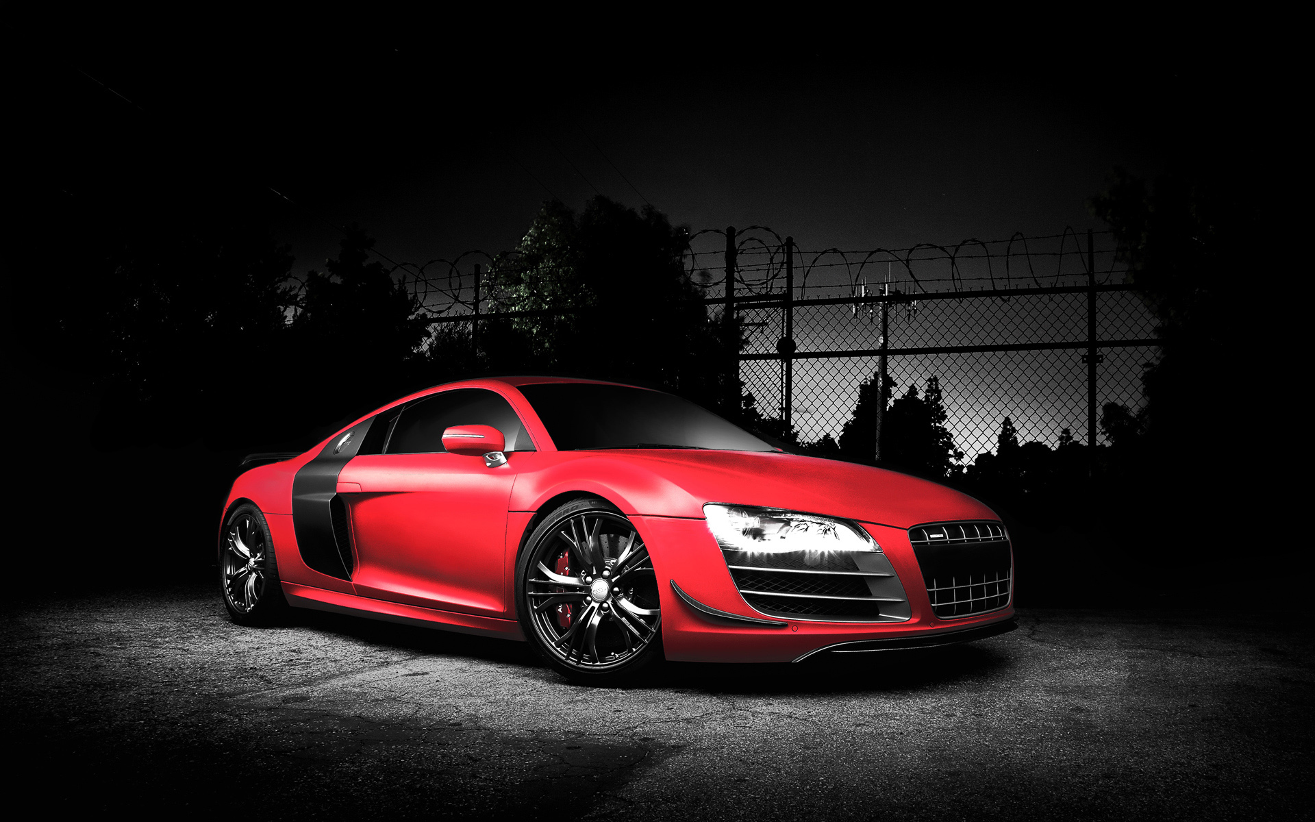 Red Audi R8 GT Wallpapers HD Wallpapers 1920x1200