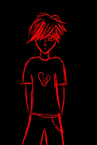 Emo Boy   Wallpaper 4 Apples iPhone 4 and iPhone 4S Flickr   Photo 333x500