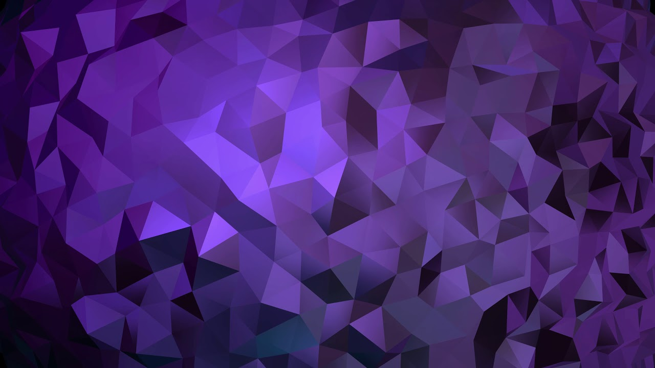 4K Classic Geometric Triangle   Purple Moving Background AAVFX 1280x720