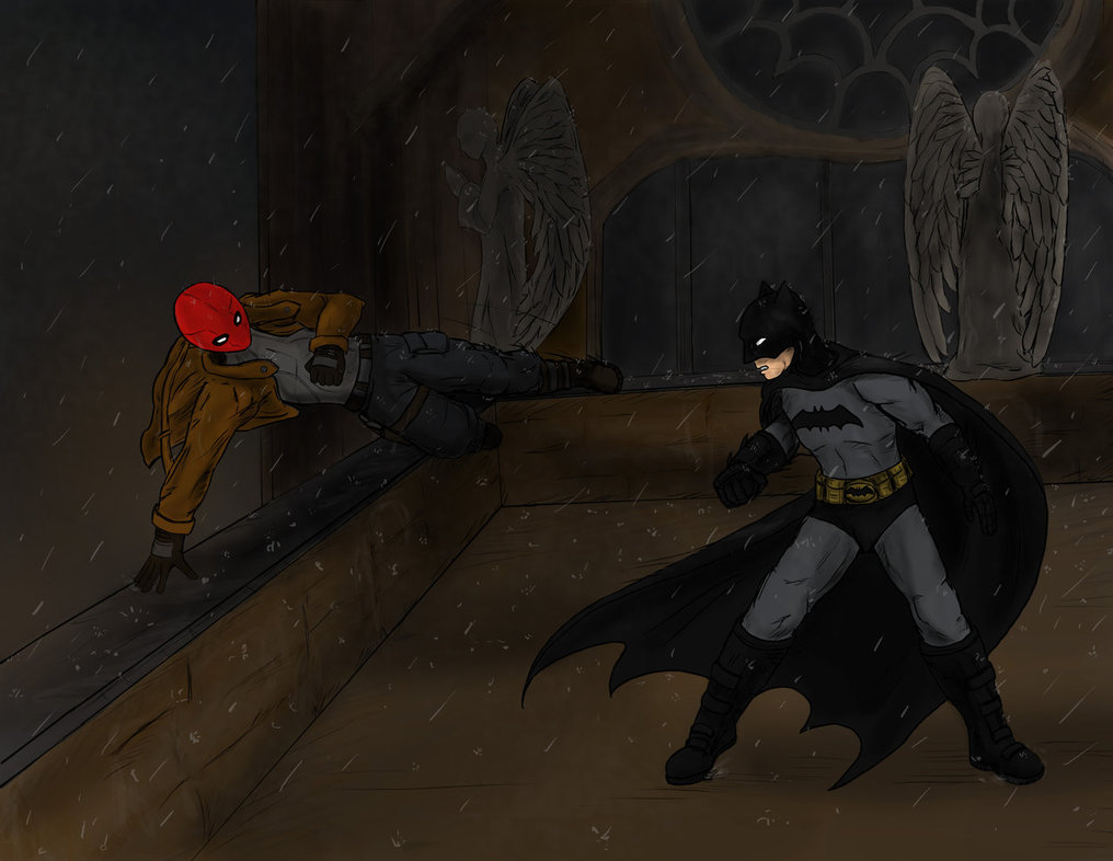 batman vs red hood - photo #5