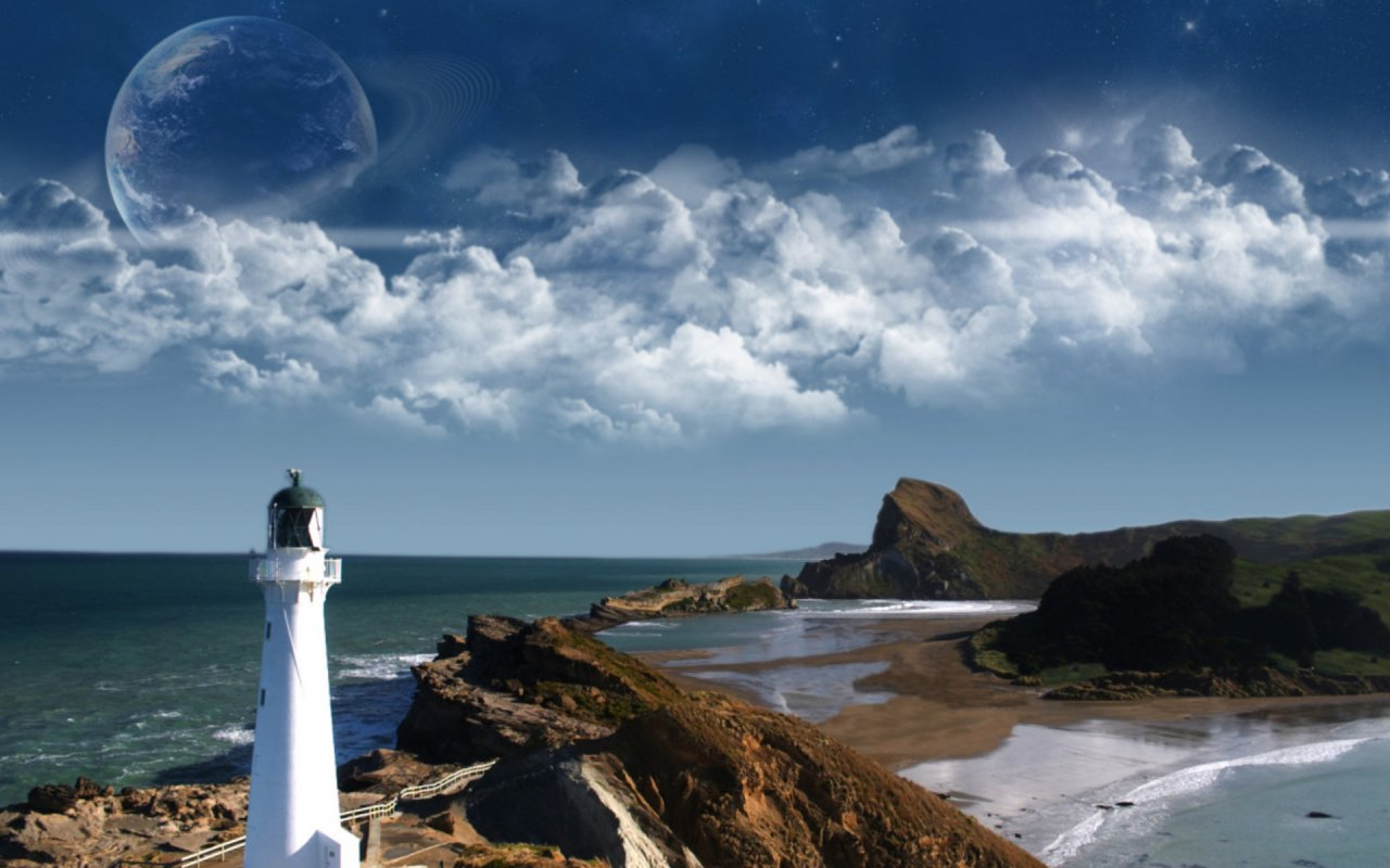 Lighthouses Around the World   HD Wallpapers Widescreen   1280x800 1280x800