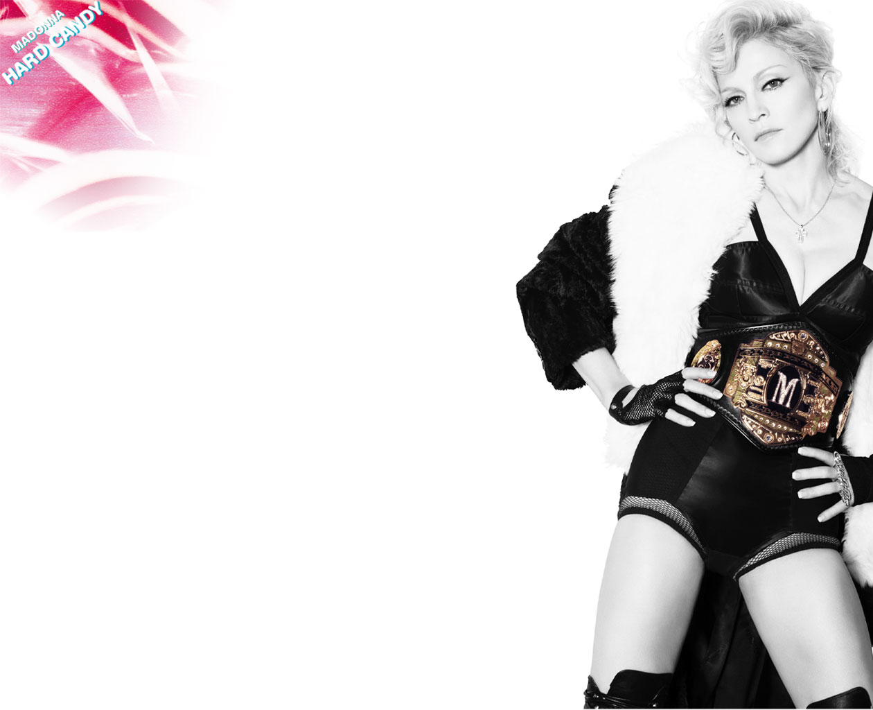 XP wallpaper PC wallpaper Madonna Hard Candy 1260x1024