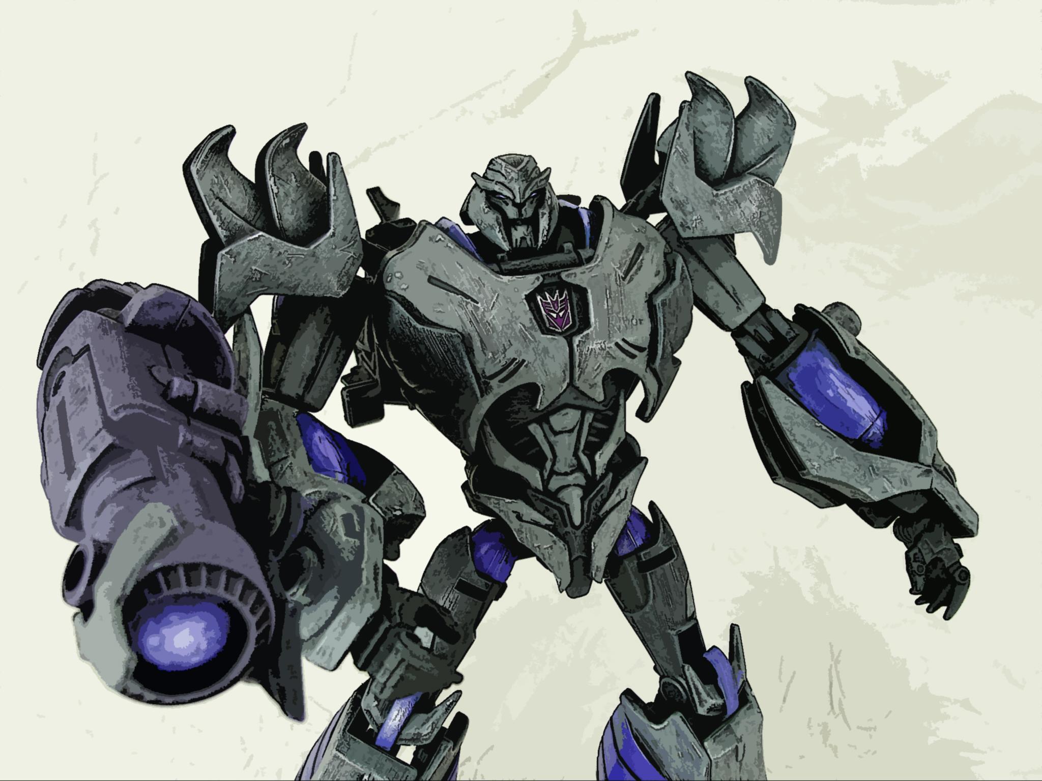 73 transformers prime megatron wallpaper on wallpapersafari - Transformers prime megatron ...