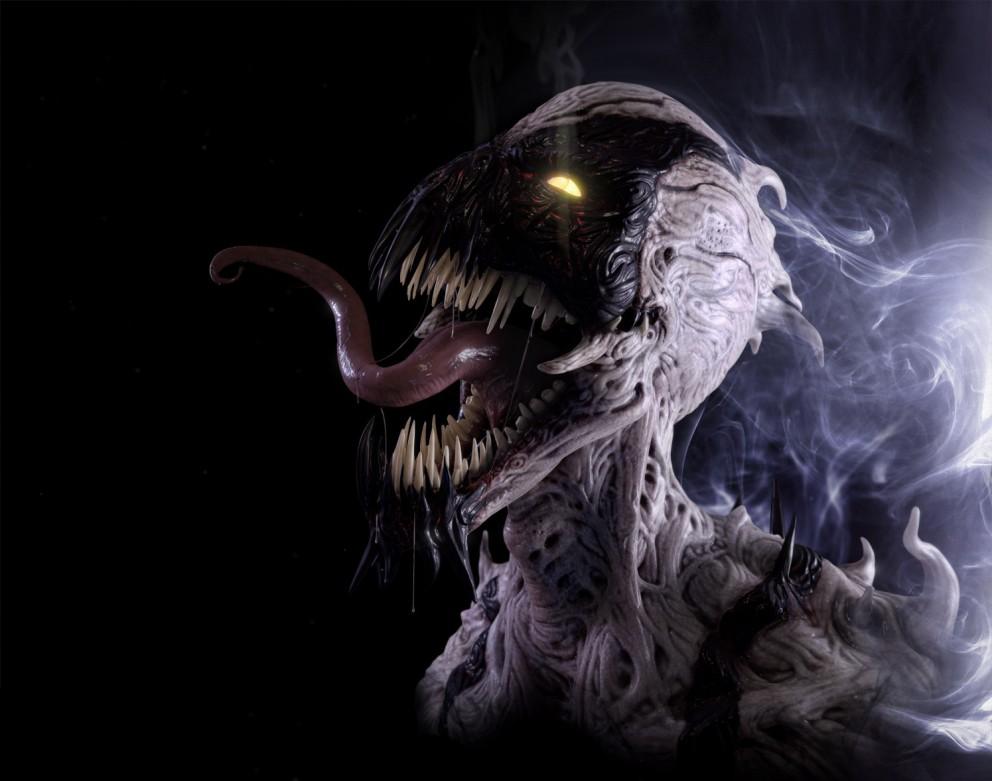 Wallpaper Anti Venom   3D Concept art Digital paintings Fantasy 992x781