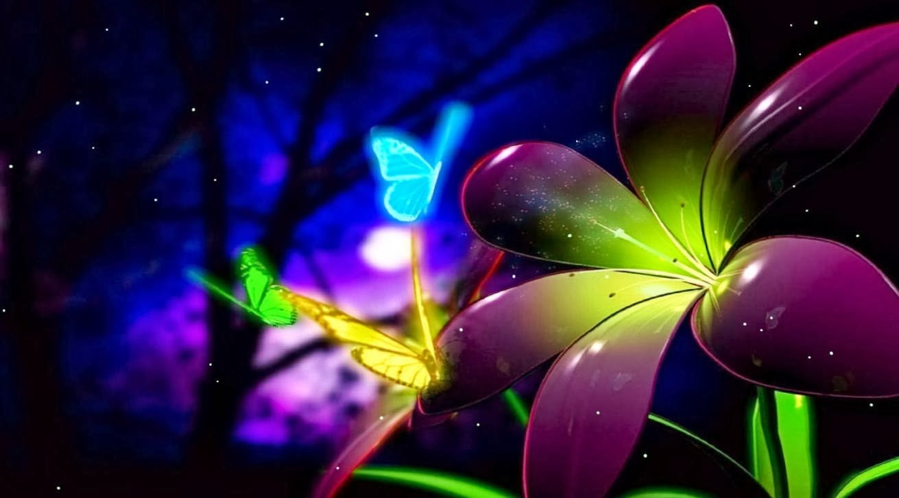 Animated Butterfly Wallpaper Wallpaper Animated 1311x727