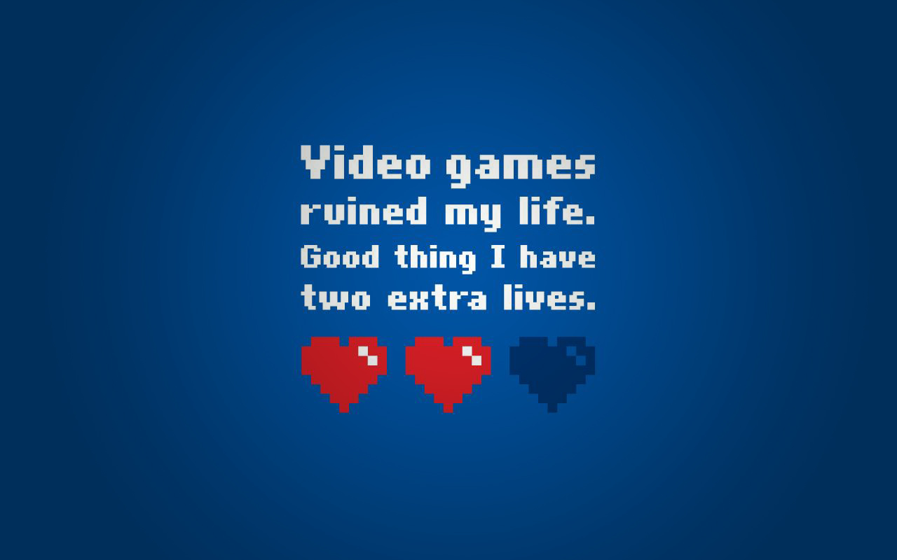 my life good thing 2 two extra lives left wallpaper background desktop 1280x800