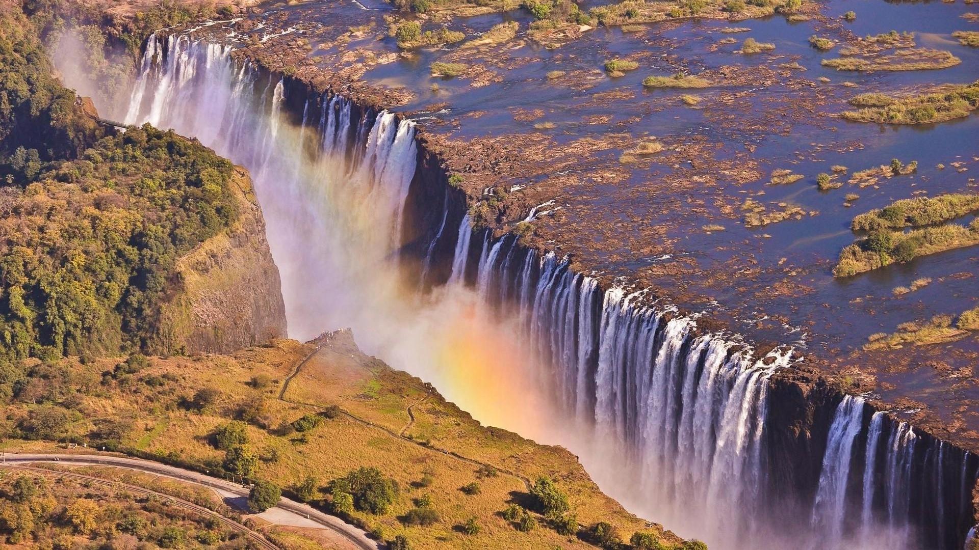 Victoria Falls Zambia wallpaper 4138 1920x1080