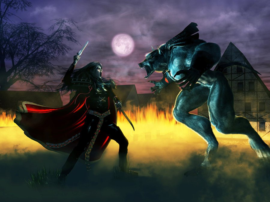 vampires vs werewolves Vampires and werewolves hating one another isn't anything new it's an age old feud known by all you have movies like underworld, books like twilight and anita blake and so forth all showing either a strained relationship between.