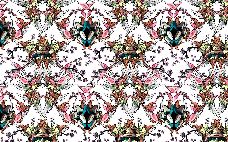Wallpaper pattern design 7 Edouard Artus 2012 1440x900