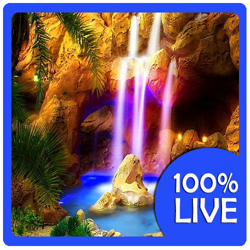 Real Waterfalls Live Wallpaper 11 screenshot 0 500x500