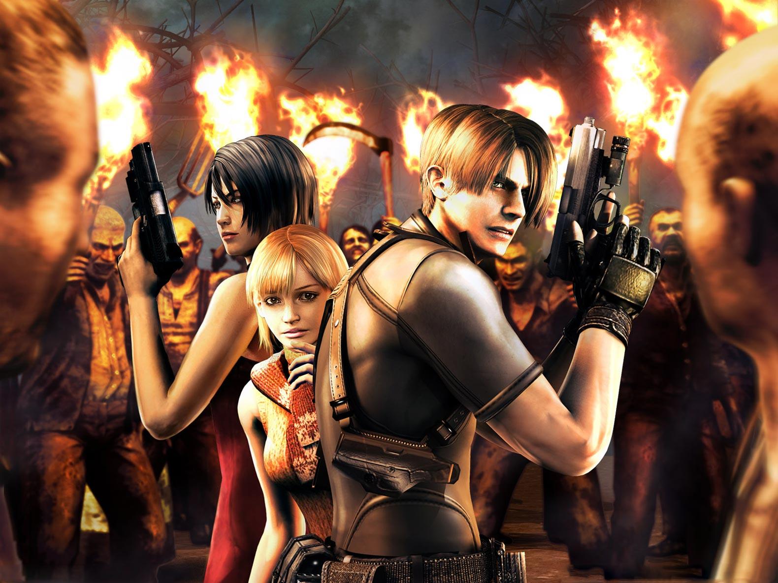 Wallpaper Resident Evil 4 06 1600 Resident Evil Ultratumba 3d 1580x1185