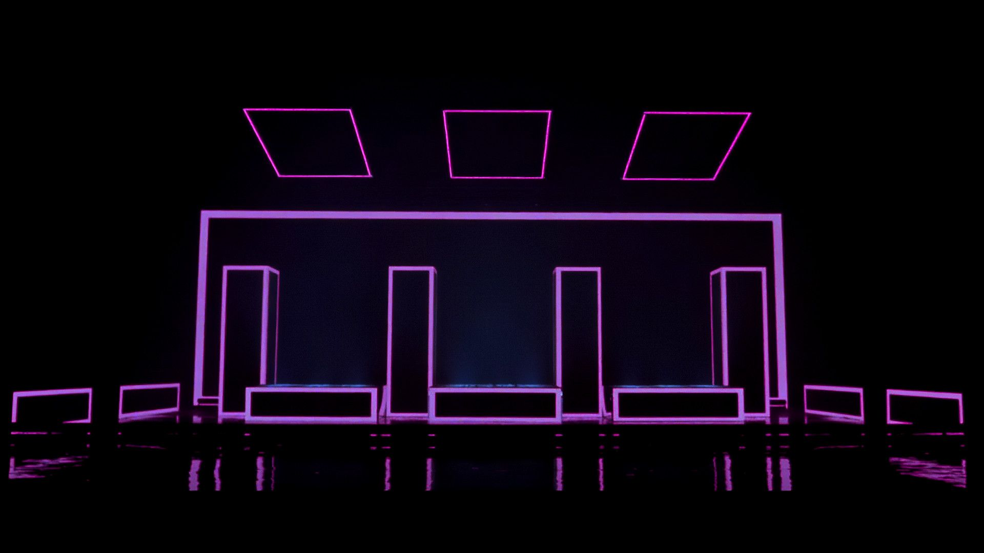 1920x1080 The 1975   UGH empty stage lo Musica in 2019 The 1920x1080