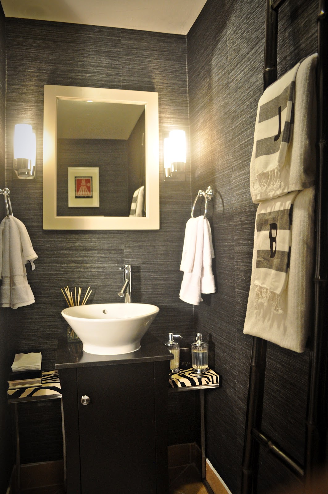 Powder Room   From Inspiration to Reality 1063x1600