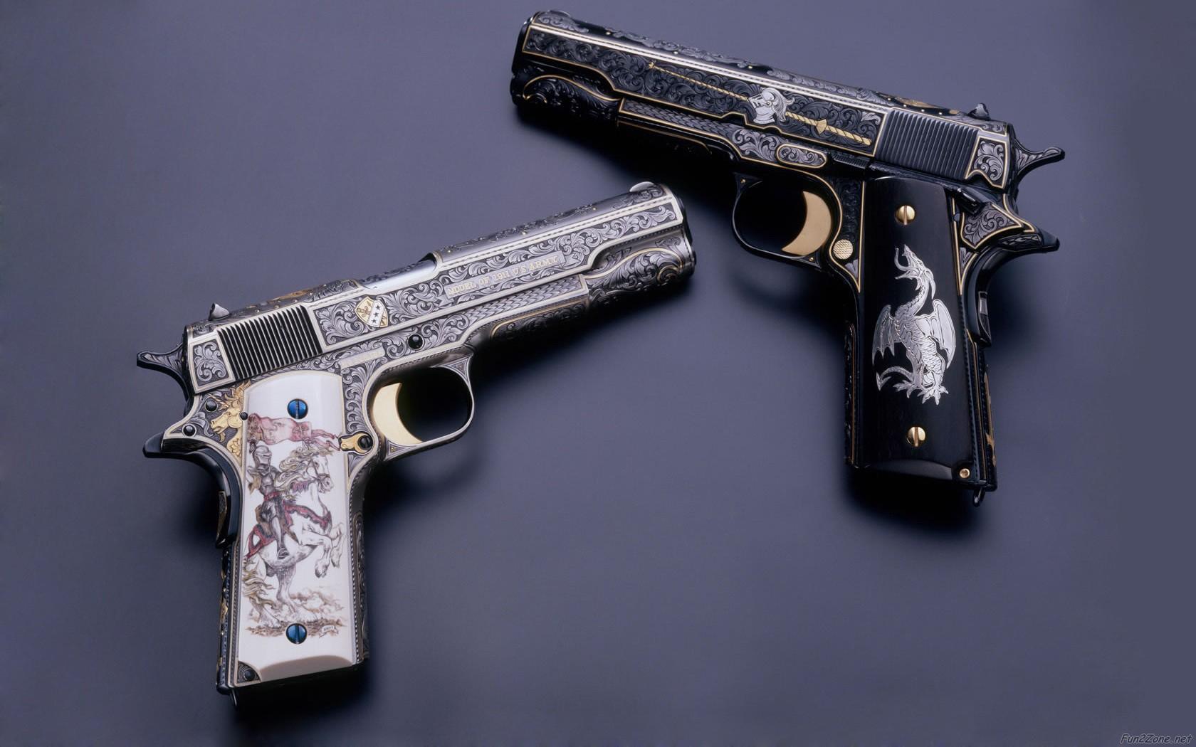 Pistol HD wallpaper 1680x1050 33928 1680x1050