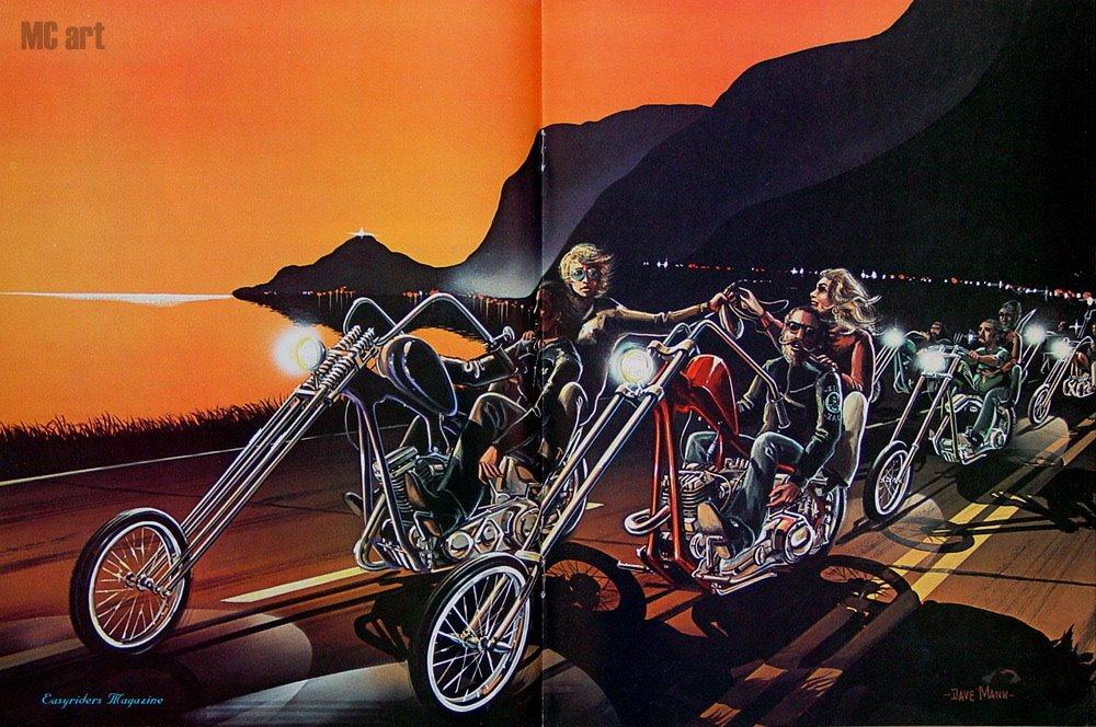 Ironhand Cycles David Mann Chopper Artist 1000x664