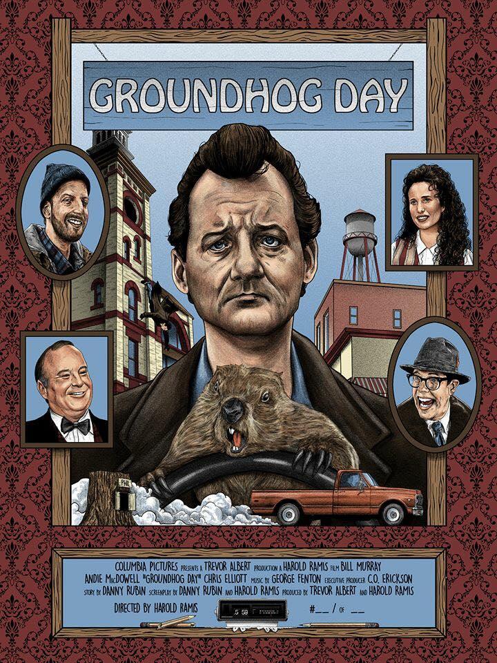 Groundhog Day 1993 [720 x 960] MoviePosterPorn 720x960