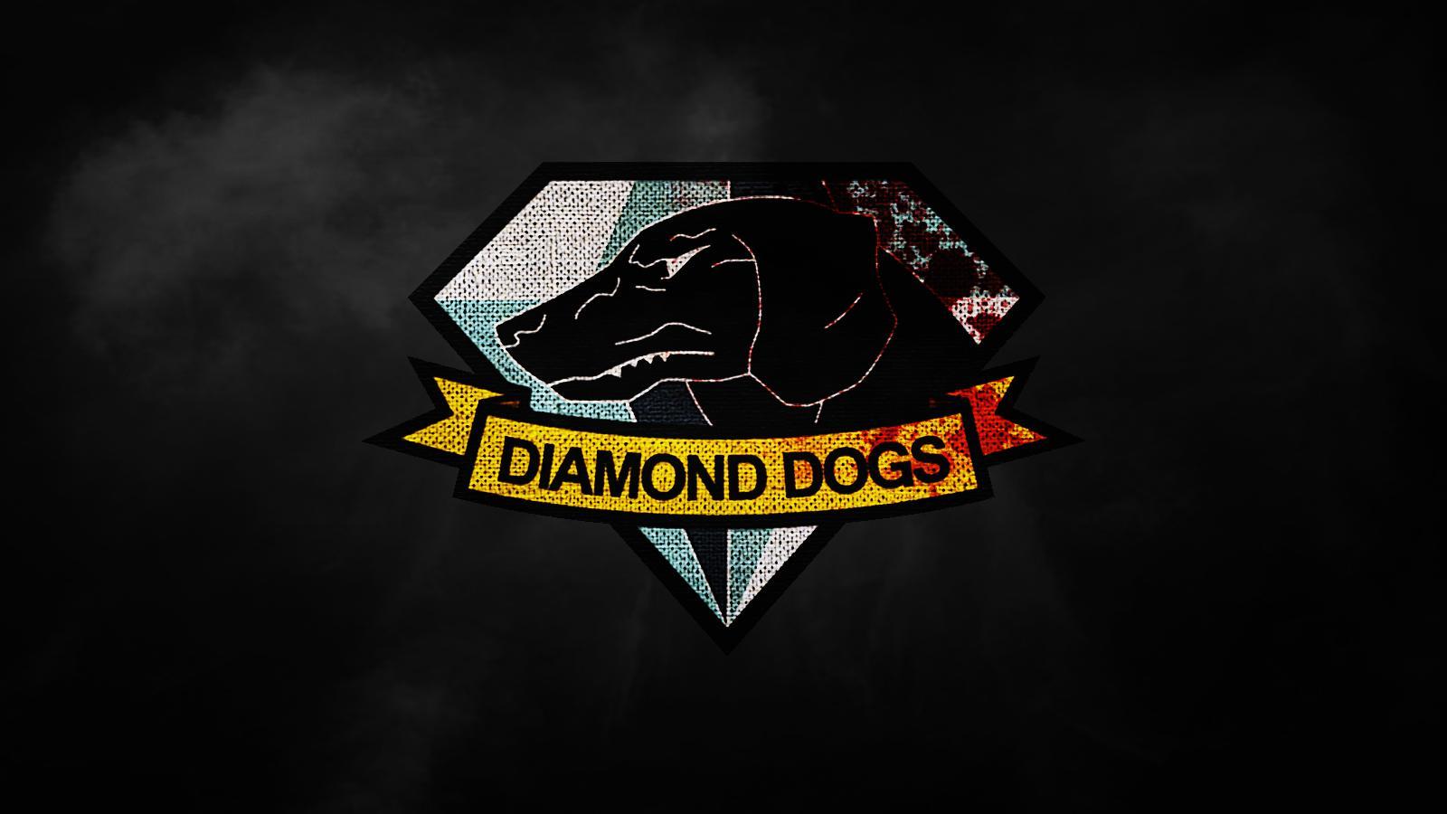 MGSV Diamond Dogs Patch Wallpaper [1600x900] metalgearsolid 1600x900