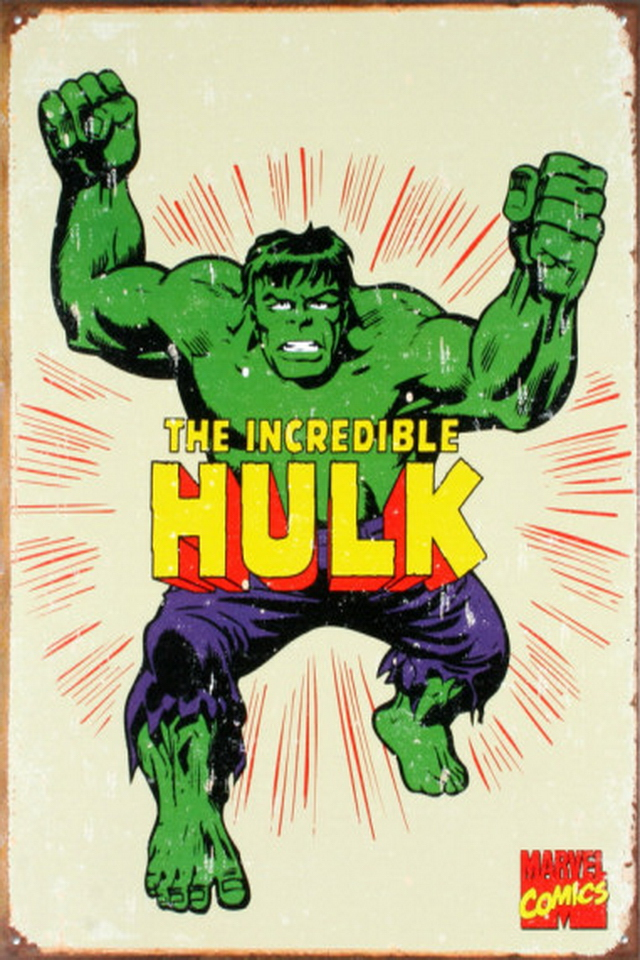 The Incredible Hulk iPhone 4 Wallpapers Wallpapers Photo 640x960