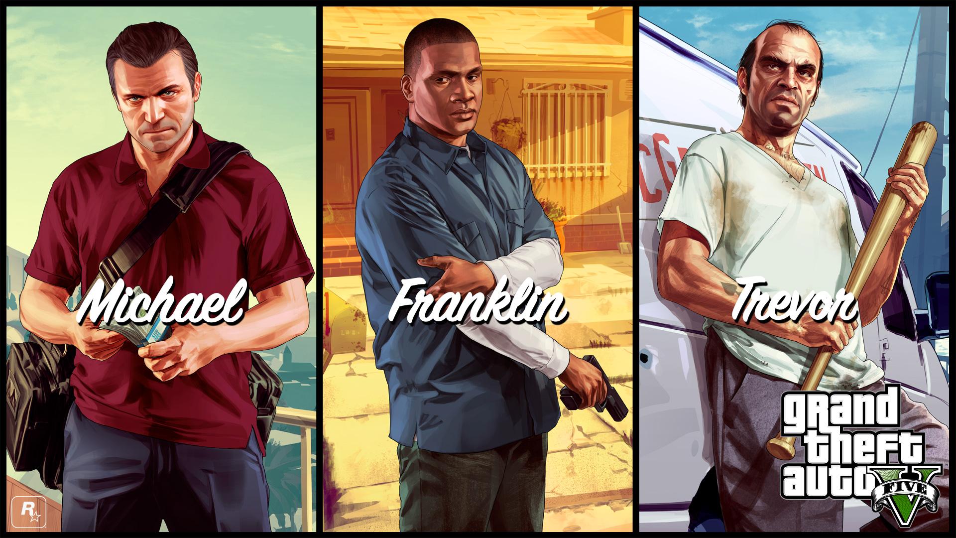 Wallpaper Gta 5 Grand Theft Auto V Rockstar 14 Wallpapers 1920x1080