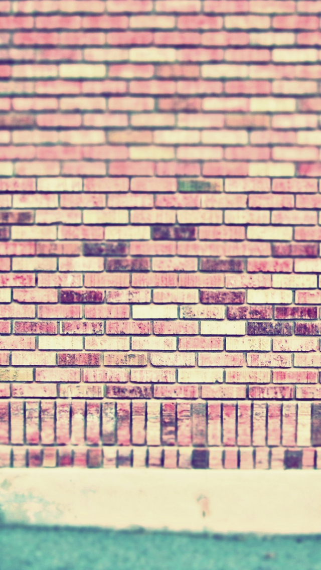 Vintage wall wallpaper for iphone 5 iPhone Wallpapers iPhone Themes 640x1136