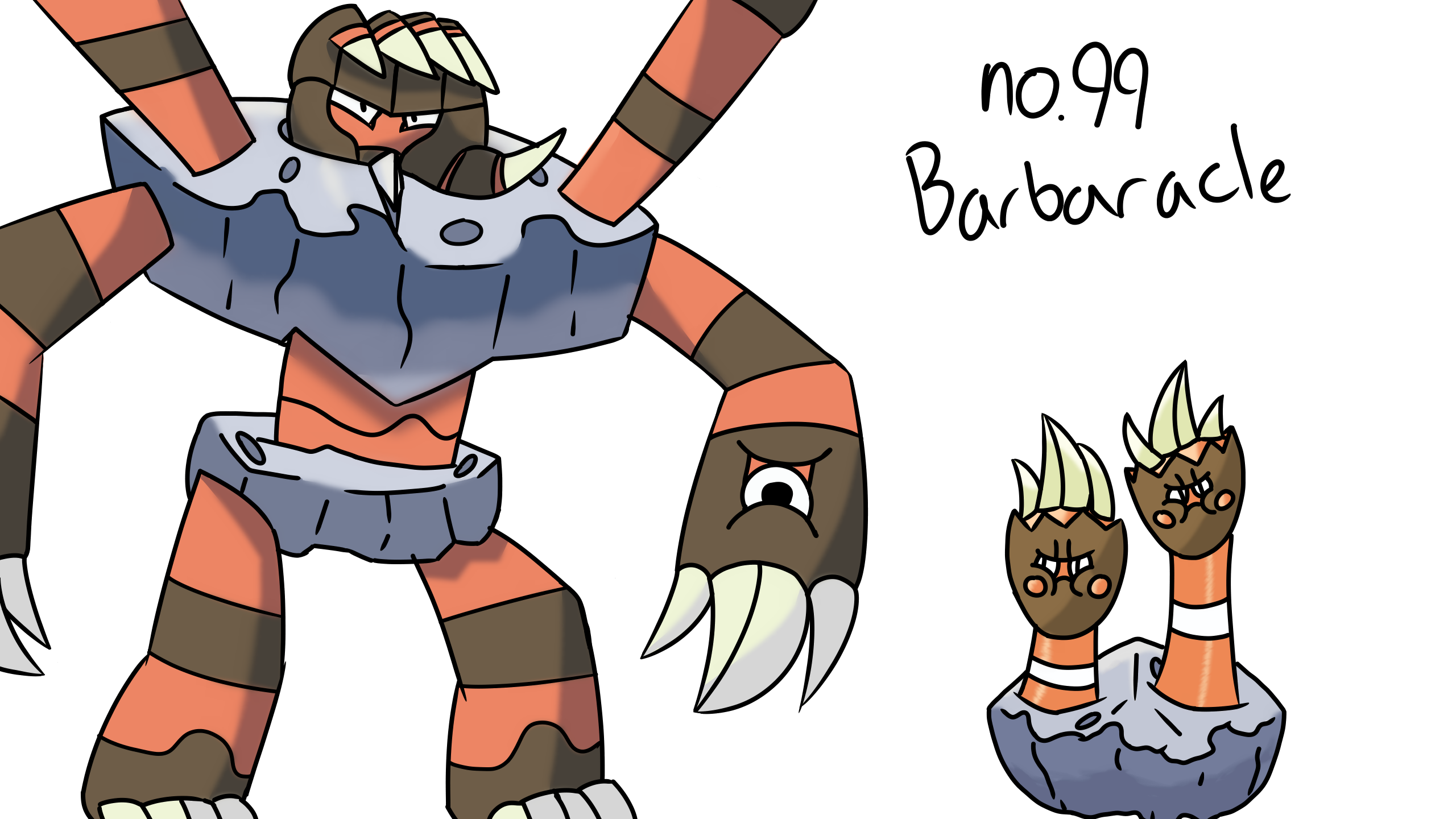 no99 Barbaracle line by ANIMATEDidiot 2560x1440
