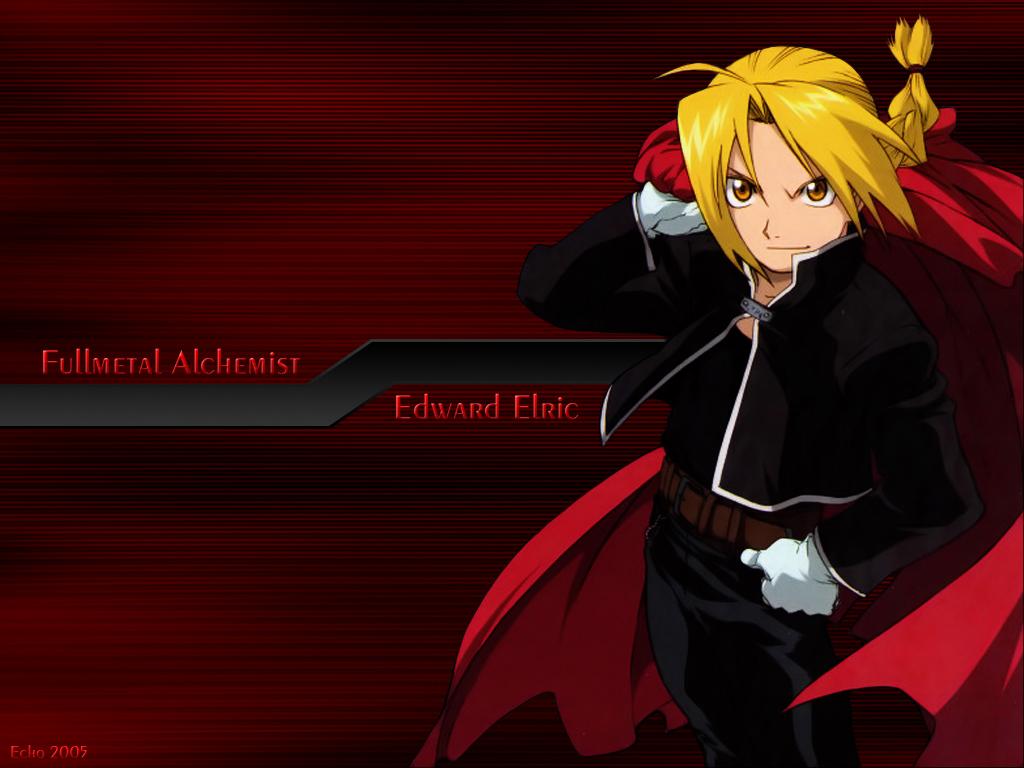 Hiromu Arakawa BONES Fullmetal Alchemist Edward Elric Wallpaper 1024x768