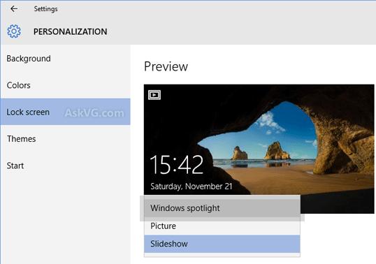 Windows Spotlight Lock Screen Background Windows 10png 538x378