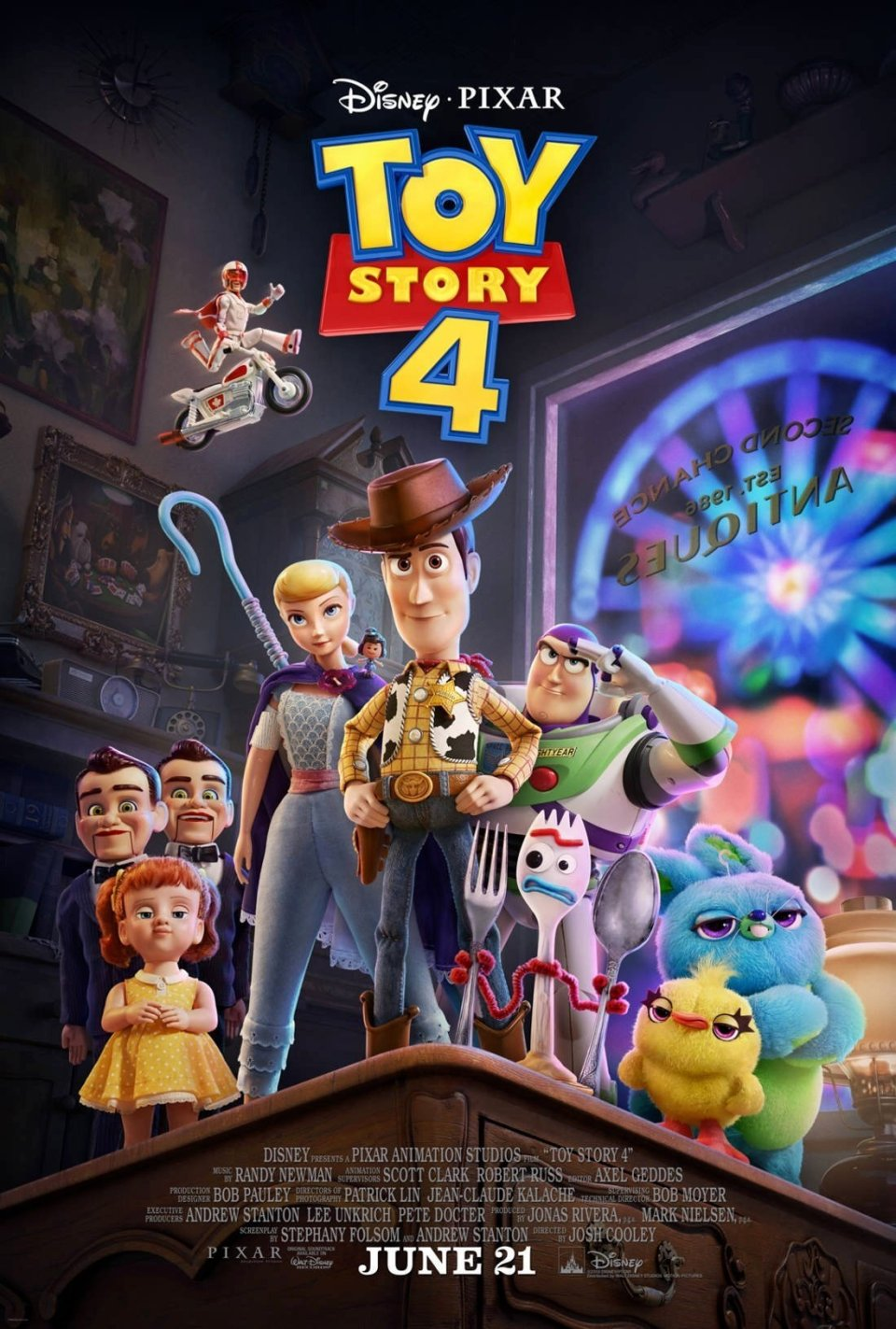 Glorious Full Trailer and Poster for Pixars TOY STORY 4 FizX 960x1423