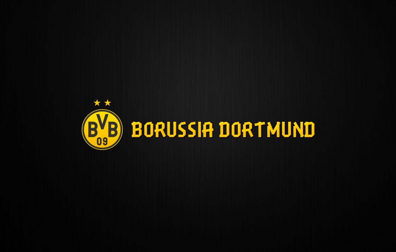 Wallpaper Yellow Sport Logo Background Dortmund Borussia 1332x850