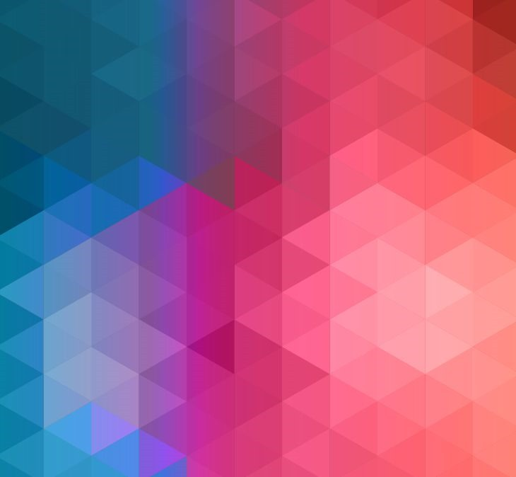 Colorful Abstract Geometric Background Vector Illustration 730x674