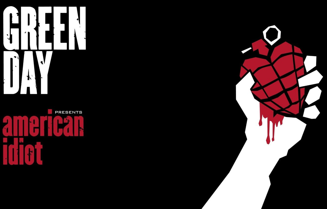 Wallpaper music Green Day american idiot images for desktop 1332x850