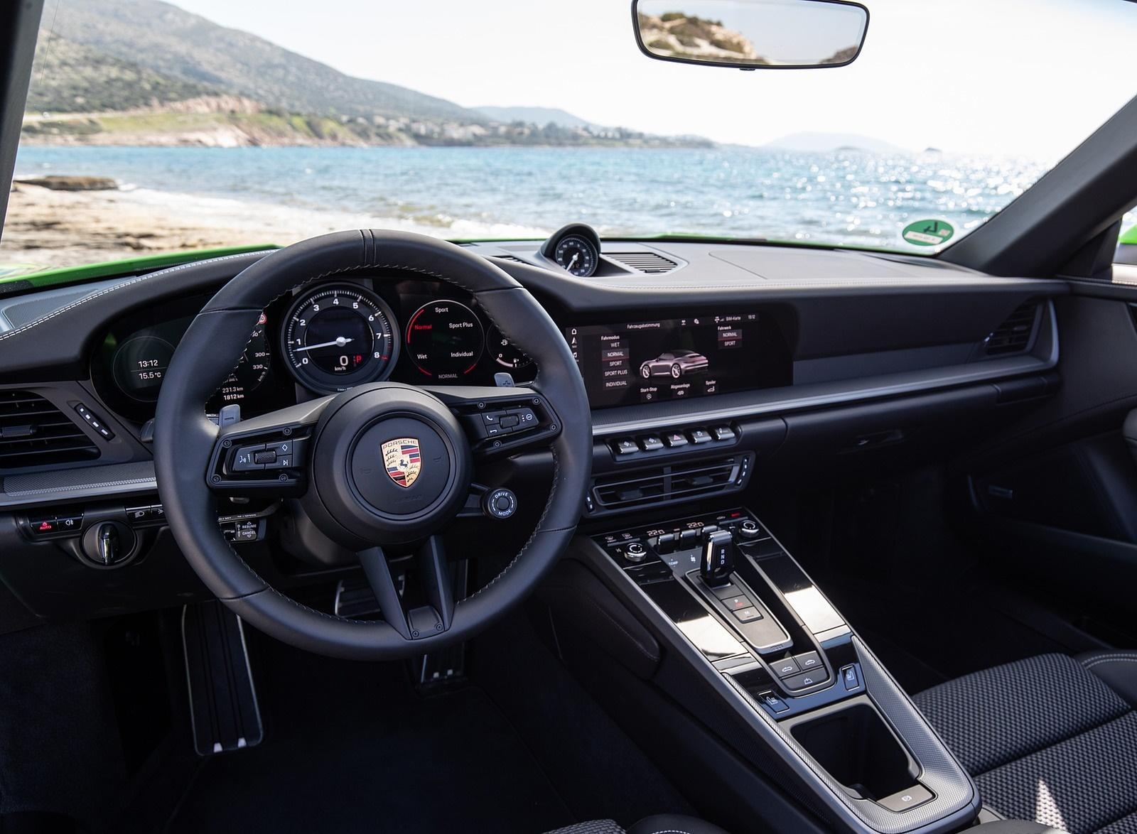 2020 Porsche 911 Carrera S Cabriolet Color Lizard Green 1600x1174