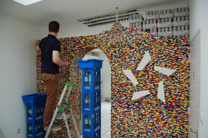 lego wall by npire 800x531
