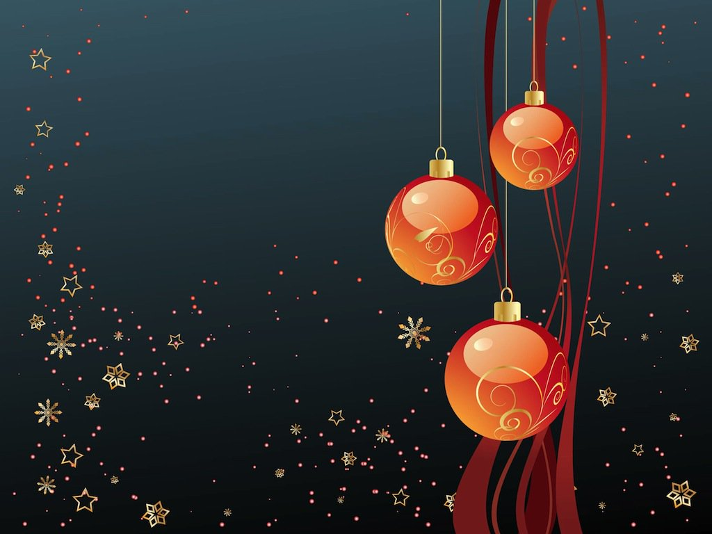 Merry Christmas Wallpaper Vector Art Graphics freevectorcom 1024x768