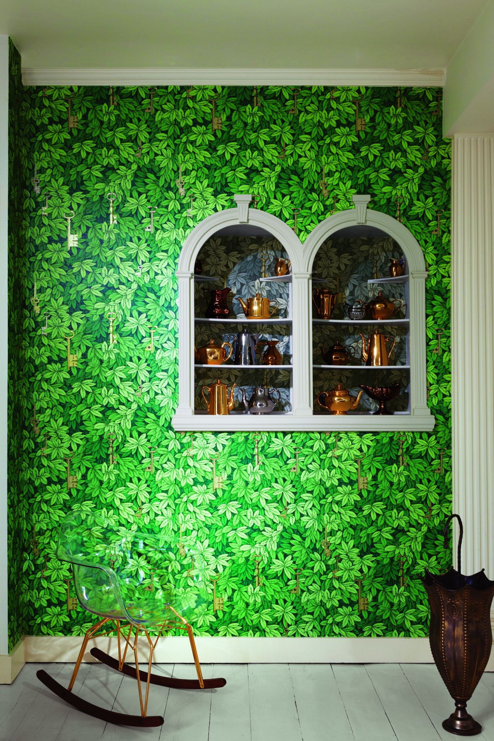 Fornasetti Wallpaper Usa Wallpapersafari