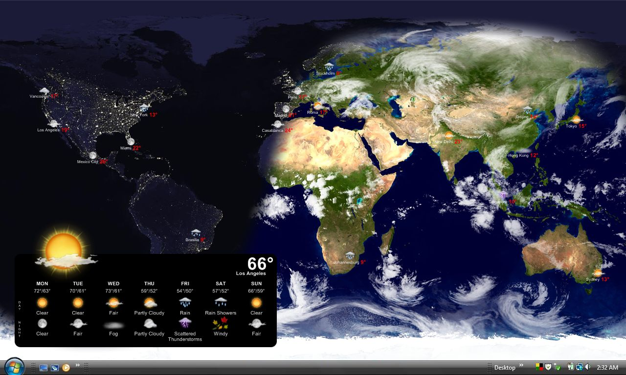 Live Earth Wallpaper For Computer