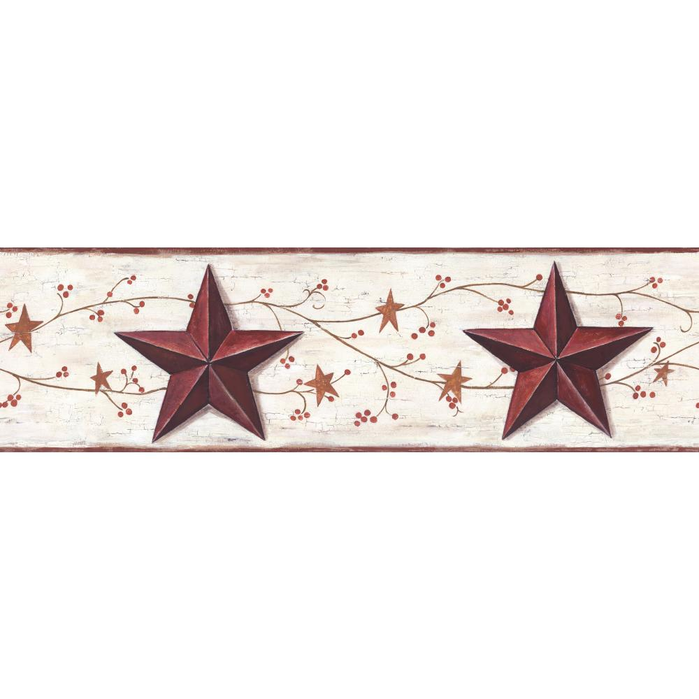 country star wall decor ebay.htm 45   stars and berries wallpaper border on wallpapersafari  45   stars and berries wallpaper border