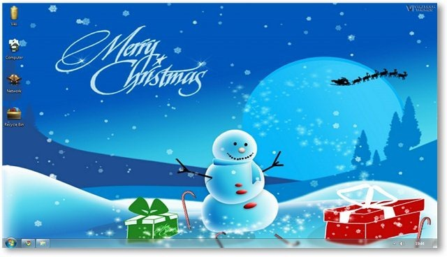 Christmas Desktop Themes Backgrounds for the Holiday Season 640x368
