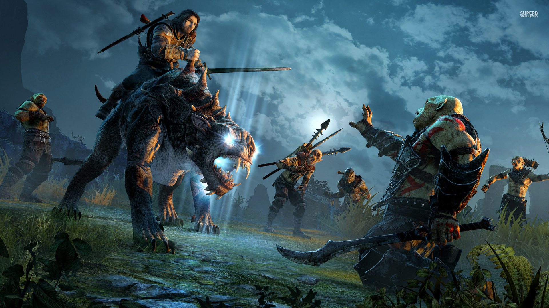 Free Download Shadow Of Mordor Wallpaper Wallpaper 1920x1080 For