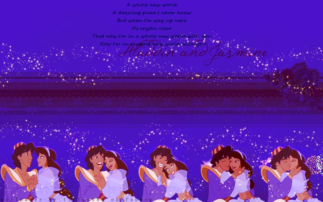 1280x800 Aladdin And Jasmine