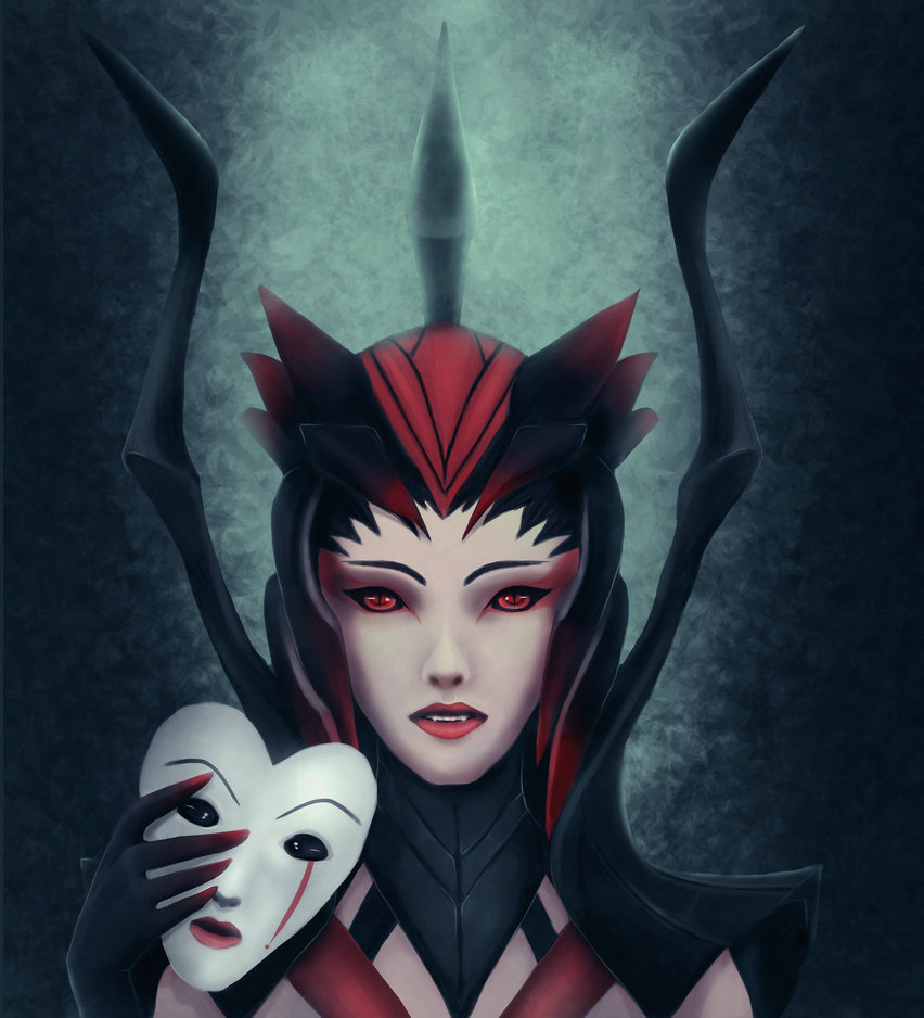 Elise the spider queen by Coeur2Vache 852x938