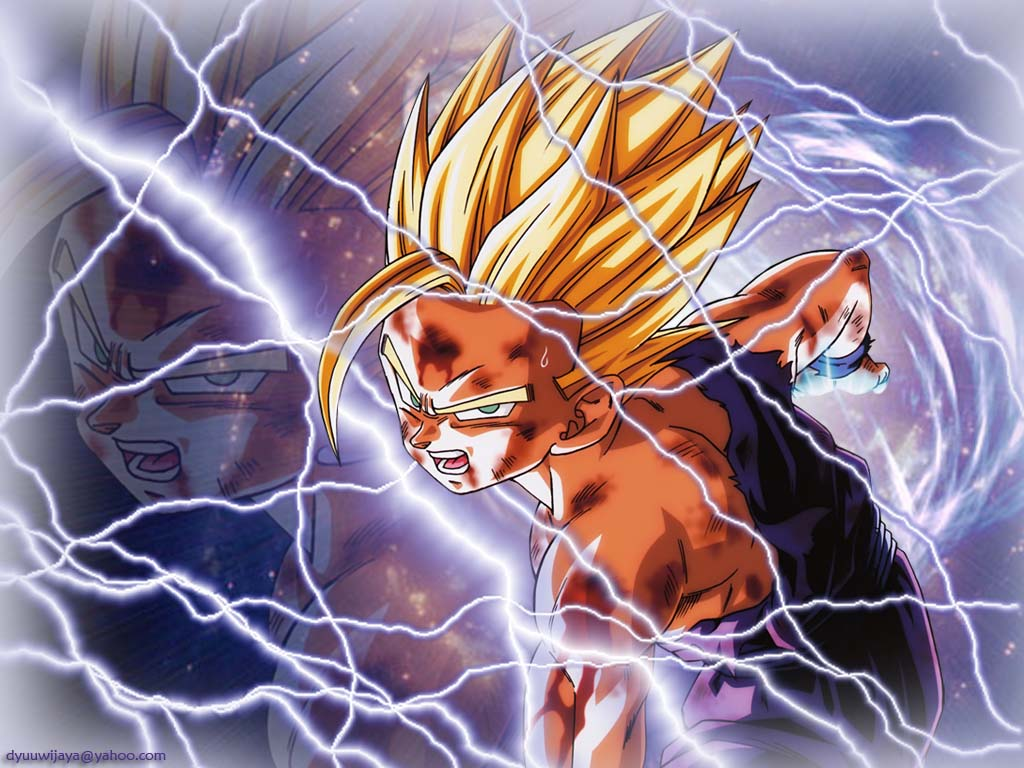 48 Super Saiyan 2 Gohan Wallpaper On Wallpapersafari